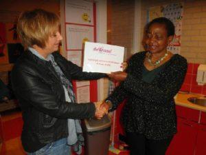Een school voor kinderen van alleenstaande moeders in Kameroen